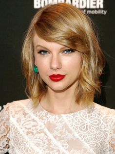 "5 New Hairstyles to Try for Spring, The It Girl style at a lot of major fashion events lately has been the long-ish bob, or ""lob"". Taylor Swift makes it look effortlessly cool."