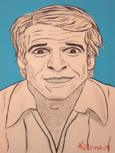 A personal favorite from my Etsy shop https://www.etsy.com/listing/102603228/martin-in-white-steve-martin-pop-art