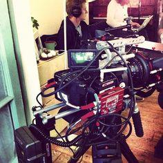 Jack Shelbourn @JackShelbourn  Ready to role... #sony #fs700 #london #movcam #camera #filmset #filmmaking #wireless #VMI http://instagr.am/p/RFBlI2mChH/
