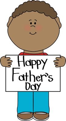 Free Father's Day clip art from mycutegraphics.com