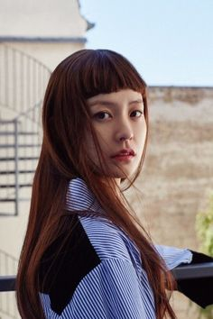 정유미 처피뱅 사진 모음/패션 : 네이버 블로그 Photography Women, Portrait Photography, Korean Actresses, Bangs, Hair Makeup, Hair Cuts, Hair Color, Hair Beauty, Beautiful Women