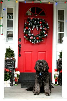 Decorating your porch for Christmas with @Lowe's - Today's Creative Blog