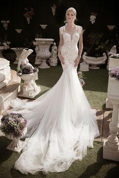 DEVINE #fall #2016 #wedding #dresses, #lightindreaming, This #stunning #weddingdress is by #NaamaAnat Israeli #hautecouture #designers. Available in the UK CYPRUS GREECE ITALY at #bridal boutique #designer weekend. #bride #bridetobe #bridetobelux #engaged #lacedress #lace #Israeli #weddinggown #weddinginspiration #destinationwedding #instafashion #bridal #designerdress #designerweekend http://naamanatbridal.com/