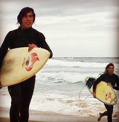 Me And Lermy Catching Some Waves!! On The GashBoards!! #Surf #Surfing #GashBoards #Torquay #JanJuc #Bells #Beach #RipCurlPro #Shredding #Coast #Coastline by jacktoffoli http://ift.tt/1X8VXis