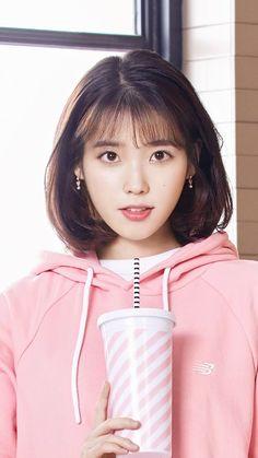 Half Korean, Korean Short Hair, Pretty Korean Girls, Shot Hair Styles, Iu Fashion, Girl Short Hair, Korean Actresses, Chinese Actress, Aesthetic Girl