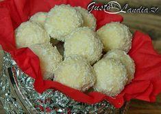 Bomboane Raffaello Krispie Treats, Rice Krispies, Food And Drink, Dairy, Cheese, Desserts, Foods, Sweets, Raffaello