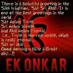 Ek onkar meaning sikh quotes