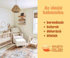 A gyerekszoba bútorok  elhelyezése, berendezése, babaszoba dekoráció – babamasszázs nyugalomban