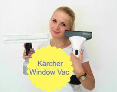Review: De Kärcher Window Vac, een uitkomst voor ramen wassen? Hekel aan ramen lappen in je huishoud routine? dit is de oplossing!