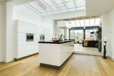 Clean and light kitchen