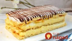 Frozen Puff Pastry, Puff Pastry Sheets, Napoleon Pastry, Napoleons Recipe, Desserts Français, Classic French Desserts, Breakfast Pastries, Pastry Shop, French Pastries
