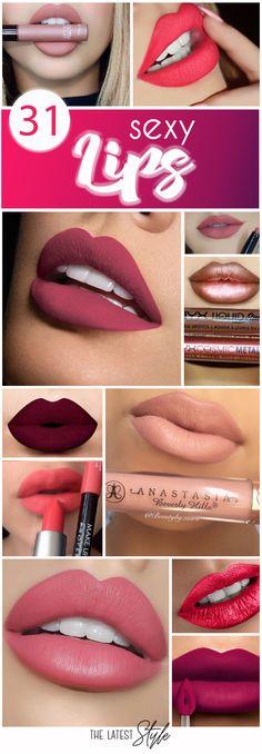 31 Super Sexy Lips Inspirations