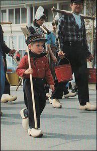 Little boy in Pella Iowa