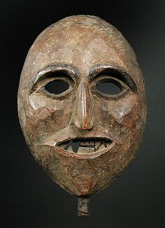 Himalayan Shamans mask from Middle Hills, Nepal