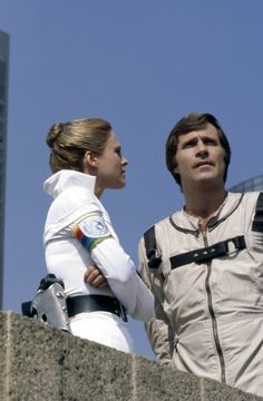 Still of Gil Gerard and Erin Gray in Buck Rogers in the 25th Century (1979)