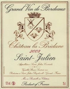 Chateau La Bridane Saint-Julien