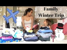 Minimalist Packing - 10 Day Family Snow Trip - YouTube