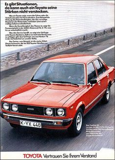 1980 toyota tercel ad love this so close to my first car 80 rh pinterest com