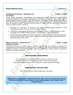 images about Resumes on Pinterest   Resume tips  Infographic     Pinterest Excellent Teacher Resume Sample with the added personal summery this resume  is unique and outstanding