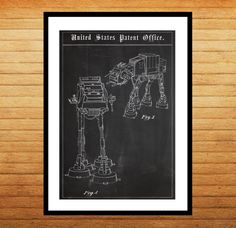 AT-AT Imperial Walker Poster, Star wars, at-at, Star wars poster, Star wars art by STANLEYprintHOUSE  1.00 USD  We use only top quality archival inks and heavyweight matte fine art papers and high end printers to produce a stunning quality print that's made to last.  Any of these posters will make a great affordable gift, or tie any room together.  Please choose between different sizes and col ..  https://www.etsy.com/ca/listing/244156544/at-at-imperial-walker-poster-star-wars?ref=rss