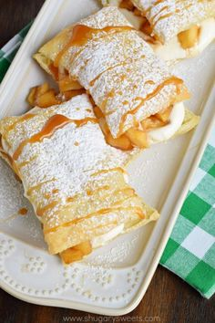 Recipes For You: Apple Cheesecake Napoleons