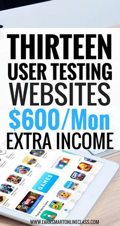 Usability test jobs online: Earn extra income by testing websites and apps from the comfort of your home. Make $8 to $10 per test!