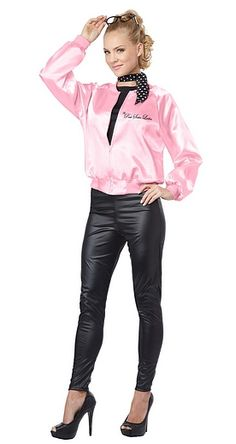 Are you are searching for another grease adult pink ladies jacket?Thinking of purchasing grease adult pink ladies jacket for a long time? Grease Costumes, Girl Costumes, Adult Costumes, Costumes For Women, 1950s Costumes, Running Costumes, Costume Ideas, Costumes 2015, Devil Costume