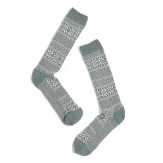 Lisa b.® Fair Isle Trouser Socks - View All Gifts - GiftGuide2013_Mobile - Madewell