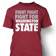 99318fab Show your love for Washington State University with this bold t-shirt  telling everyone exactly where you stand. Perfect for Cougar football ...