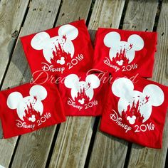 Mickey Disney Castle Family Vacation Vinyl Tees, Tinkerbelle, Minnie, Mickey, Disney family shirt (made to order) by DreamThread on Etsy https://www.etsy.com/listing/476007372/mickey-disney-castle-family-vacation