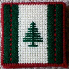 Plastic Canvas Evergreen Notepad Holder by ReadySetSewbyEvie, $6.00