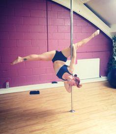 Beautiful pole move! Pole dancing, pole fitness Pole Position Scotland