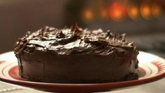 BBC - Food - Recipes : Devil's food cake with the most scrumptious Dark chocolate ganache made with water instead of milk or cream. Nigella Lawson, Devils Food, Cupcakes, Stick Of Butter, Cake Pans, Food Network Recipes, Cake Recipes, Yummy Recipes, Recipies