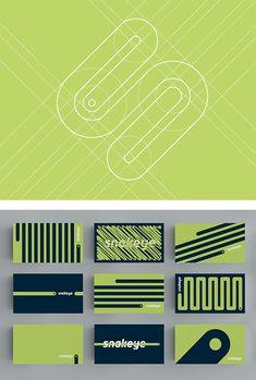 Snakeye Identity by Triptic | Inspiration Grid | Design Inspiration