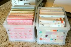 My Scrapbook Space and Storage Ideas Happy Friday! Jana Eubank here. I am lucky enough to have a dedicated scrapbook room in my home. It hasn't always been that way over the . Scrapbook Paper Organization, Scrapbook Paper Storage, 12x12 Scrapbook Paper, Scrapbook Supplies, Scrapbook Rooms, Scrapbook Cover, Scrapbooking Layouts, Craft Supplies, Sticker Storage