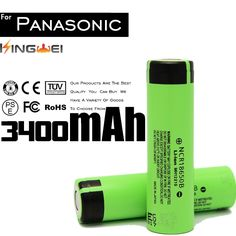 31.15$  Know more - 100% Original Brand KingWei 6PCS 18650 3400mAh 3.7v Rechargeable Battery Li-ion Batteries For Panasonic NCR18650B   #magazineonlinewebsite