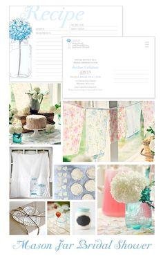 Mason Jar Bridal Shower Inspiration