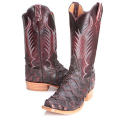BootDaddy Rios of Mercedes Mens Bass Boots Black Cherry