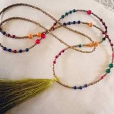 Necklace boho style    #necklace #handmade #jewlery  #handmadejewelry #boho
