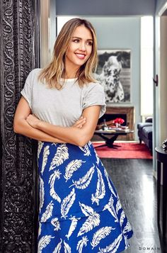 Exclusive: Tour Jessica Alba's Gorgeous Guest House via @domainehome