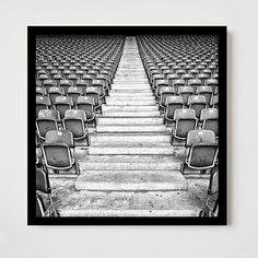 Framed Print - The Seats II #westelm