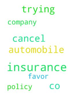 Need prayer for automobile insurance co trying to cancel - Need prayer for automobile insurance co trying to cancel my policy pray favor with insurance company  Posted at: https://prayerrequest.com/t/EbS #pray #prayer #request #prayerrequest