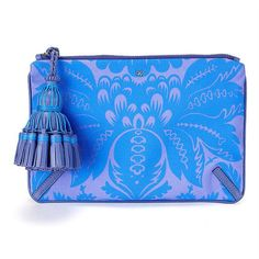 Anya Hindmarch  Courtney Damask-Print Clutch