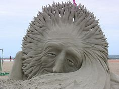 Oh Mr. Sun!  /  Sand Castle Sculptures | Sand Castle Art Sculptures