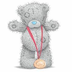 Tatty Teddy won a medal