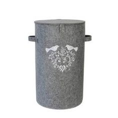 Beautifully embroidered with Jan Constantine's Love Birds design in white, this grey laundry basket from the Jan Constantine collection has been crafted from gr. Grey Laundry Basket, Bird Design, Love Birds, Bathroom Accessories, Home Decor, Products, Bathroom Fixtures, Decoration Home, Room Decor