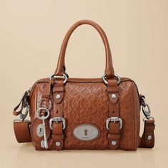 fossil maddox embossed - satchel I did have it until I decided to sell it