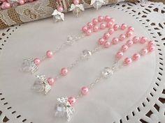 100PC Baptism Party Favors Bracelets Angel Wedding Communion Recuerdos Bautizo