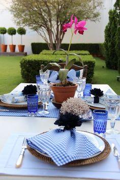 no gazebo | Anfitriã como receber em casa, receber, decoração, festas, decoração de sala, mesas decoradas, enxoval, nosso filhos