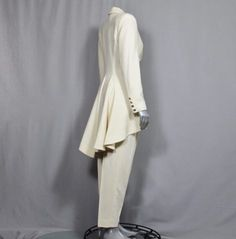 Jaw Dropping Women's Tuxedo Suit Award by WoodlandGlassVintage